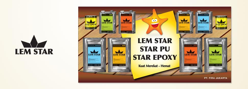 Lem Star Banner, Spanduk