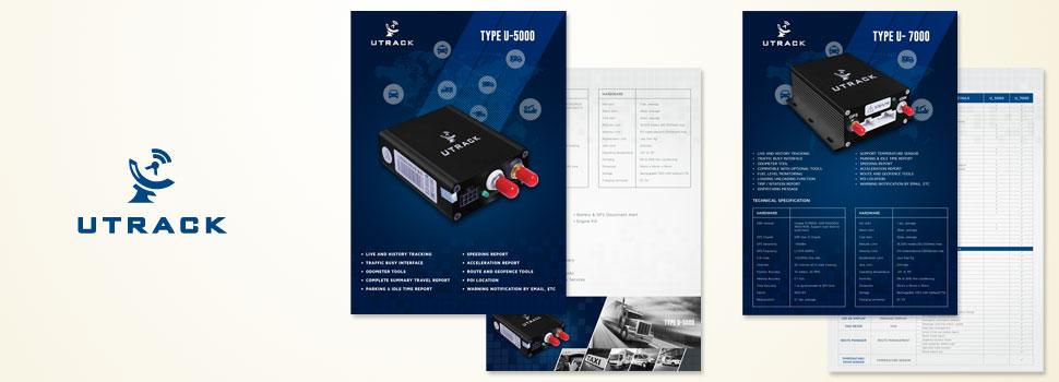 UTRACK, Brochure, Company Profile